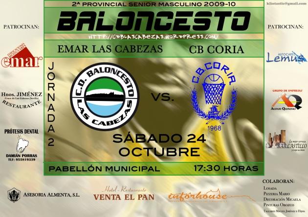 Cartel Coria 2009-10