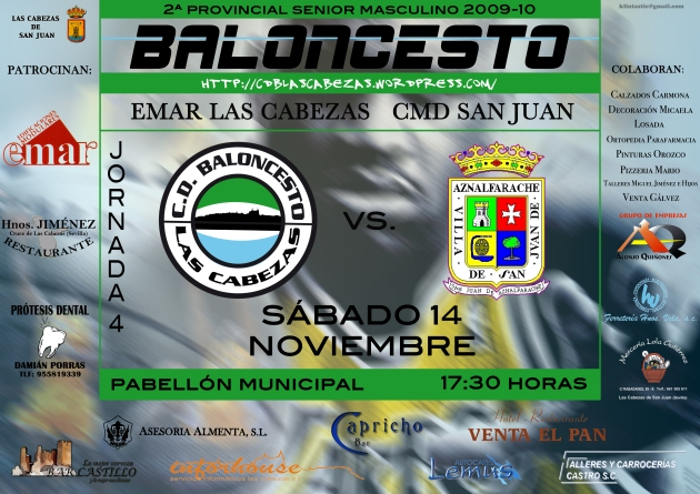 Cartel CMD SAN JUAN A3